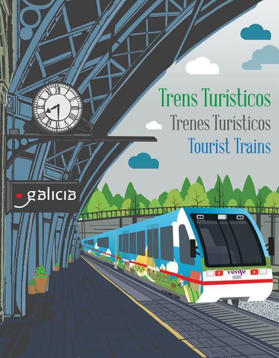 trenes turísticos Galicia 2018